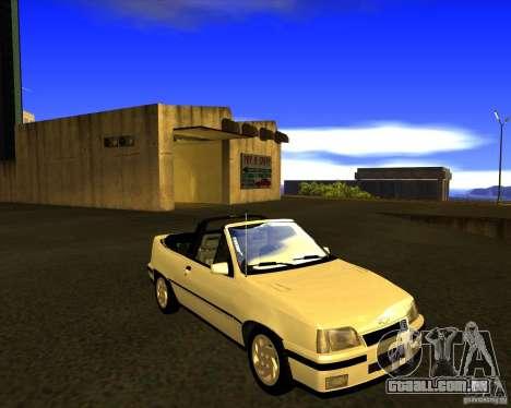 Chevrolet Kadett GSI 2.0 Conversivel (1991-1995) para GTA San Andreas vista traseira