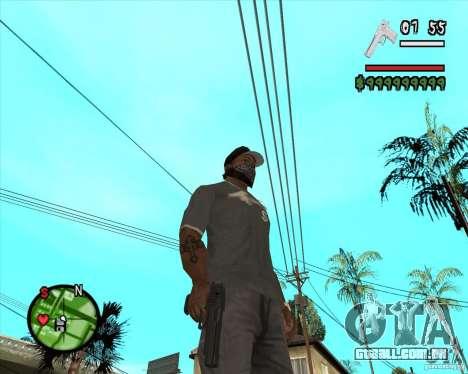 Desert Eagle HD para GTA San Andreas segunda tela