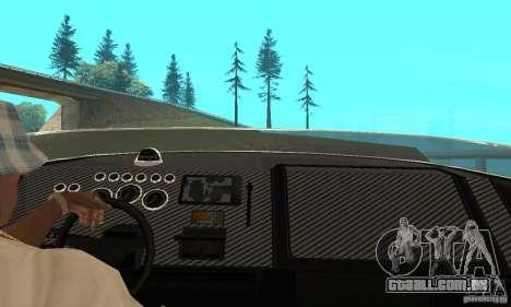 GTAIV TBOGT Blade para GTA San Andreas vista traseira