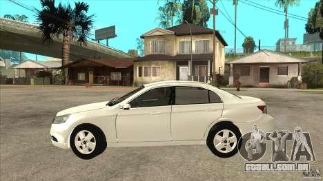 Chevrolet Epica 2008 para GTA San Andreas esquerda vista