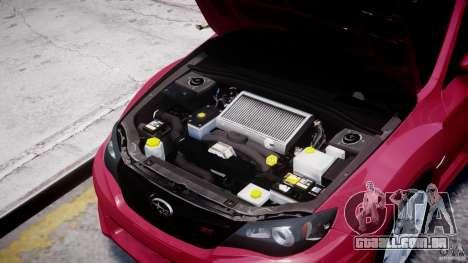 Subaru Impreza WRX STi 2011 para GTA 4 vista interior