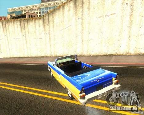 GAZ Chaika 13B para GTA San Andreas esquerda vista
