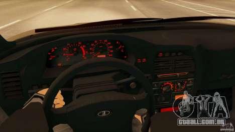VAZ-2112 para GTA San Andreas traseira esquerda vista