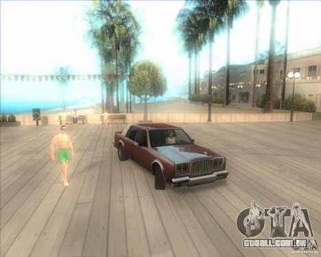 Minhas configurações ENBSeries HD para GTA San Andreas