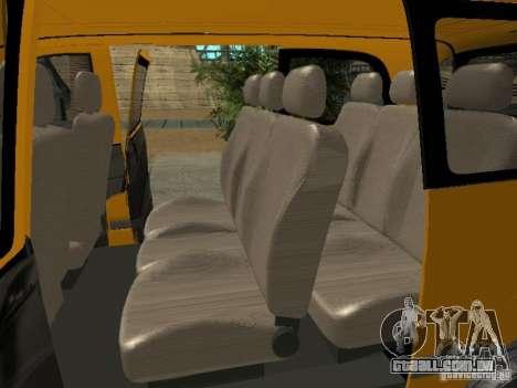 Mercedes-Benz Vito 2003 para GTA San Andreas vista direita