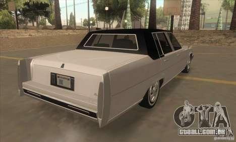 GTA IV Emperor para GTA San Andreas vista direita