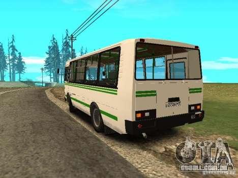 SULCO 32053 para GTA San Andreas traseira esquerda vista