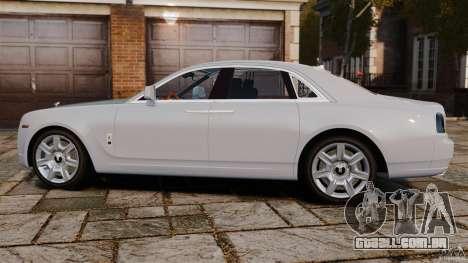 Rolls-Royce Ghost 2012 para GTA 4 esquerda vista