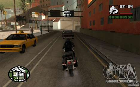 Blackwatch do protótipo para GTA San Andreas por diante tela