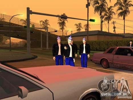 Gopnik peles para GTA San Andreas terceira tela