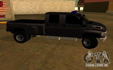 GMC Topkick C4500 para GTA San Andreas vista traseira