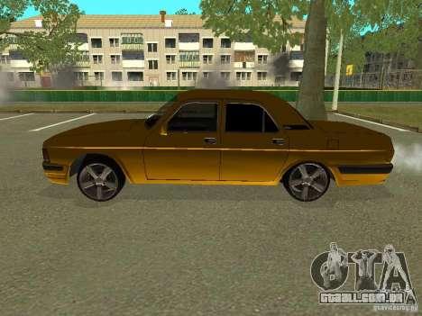 GAZ Volga 3102 para GTA San Andreas esquerda vista