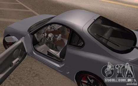 Toyota Supra Mark IV para GTA San Andreas vista traseira