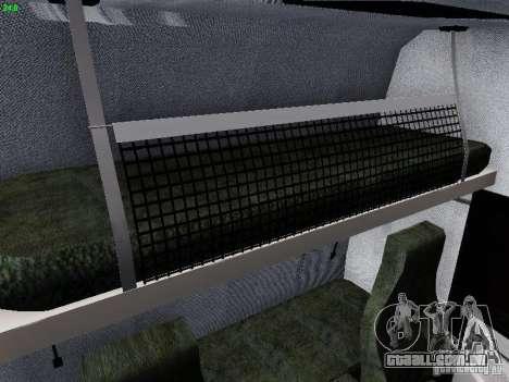 Scania R580 V8 Topline para GTA San Andreas vista inferior
