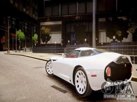 Alfa Romeo TZ3 Stradale Zagato para GTA 4 traseira esquerda vista