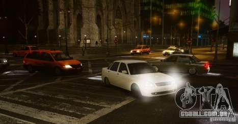 Lada Priora Dag Style para GTA 4 traseira esquerda vista