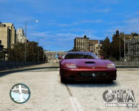 Ferrari 575M Maranello 2002 para GTA 4 traseira esquerda vista