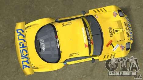 Mazda Re-Amemiya RX7 FD3S Super GT para GTA Vice City vista traseira