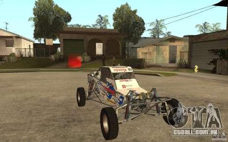 CORR Super Buggy 2 (Hawley) para GTA San Andreas vista traseira