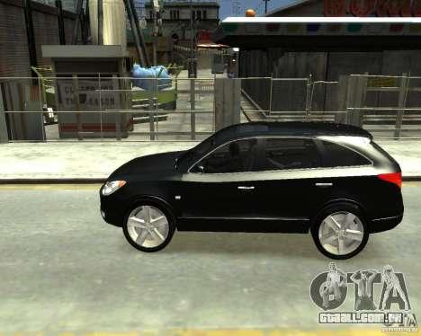 Hyundai IX55 para GTA 4 traseira esquerda vista