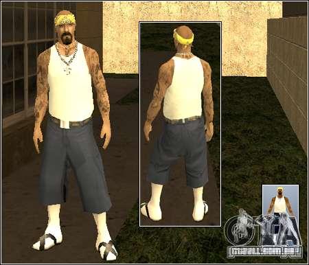 Pele Pack Getto para GTA San Andreas por diante tela