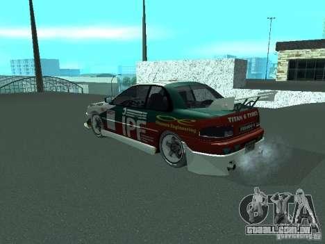Subaru Impreza para o motor de GTA San Andreas