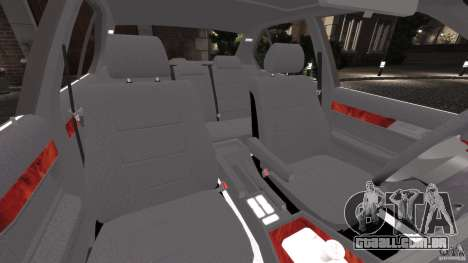 BMW E34 V8 540i para GTA 4 vista interior