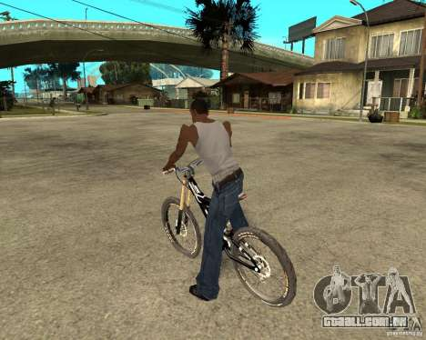 Diamondback strike Beta para GTA San Andreas esquerda vista