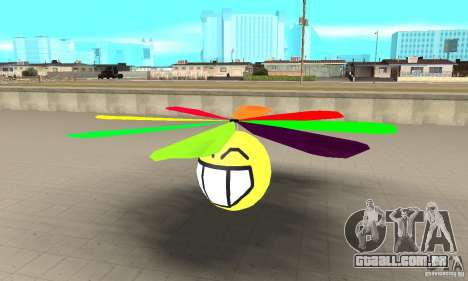 Smiley no céu para GTA San Andreas