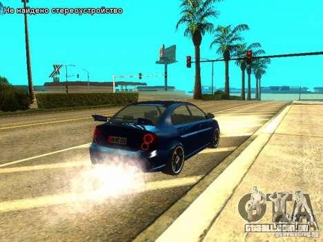 Hyundai Accent Era para GTA San Andreas vista direita