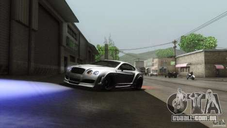 Bentley Continental GT Premier4509 2008 Final para GTA San Andreas vista interior