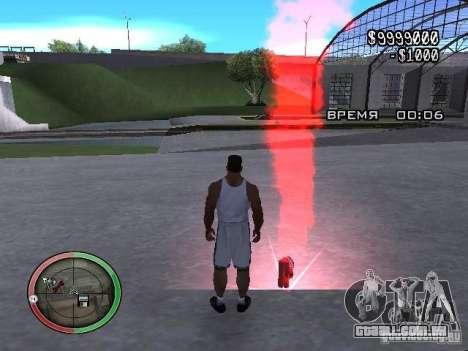 Dinamite MOD para GTA San Andreas segunda tela