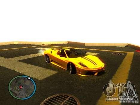 Ferrari F430 Scuderia M16 2008 para as rodas de GTA San Andreas