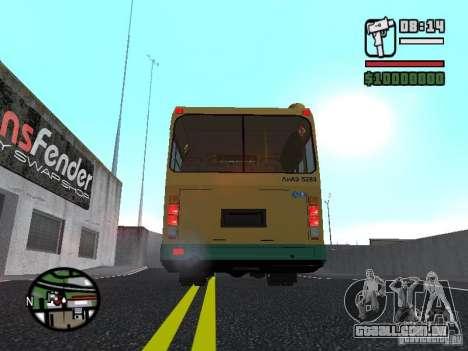 LIAZ 5283.01 para vista lateral GTA San Andreas
