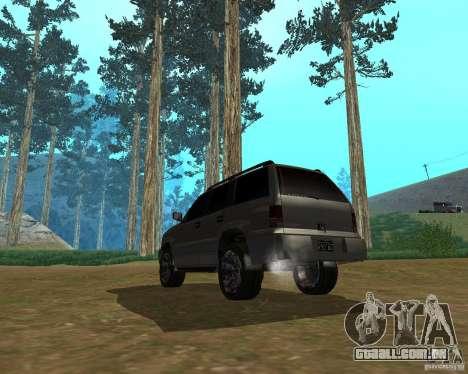 Cavalgada de GTA 4 para GTA San Andreas esquerda vista