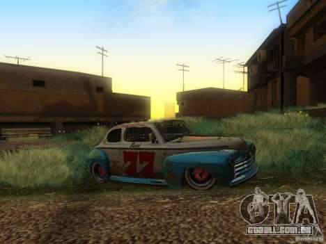 Ford Coupe 1946 Mild Custom para GTA San Andreas vista direita