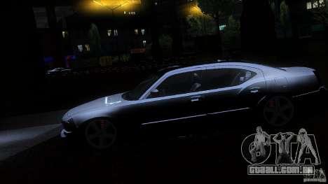 Dodge Charger RT 2010 para vista lateral GTA San Andreas