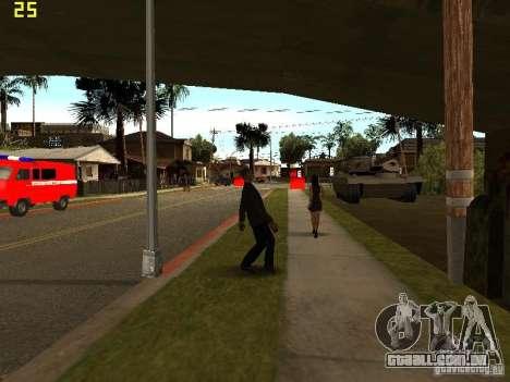 Drunk People Mod para GTA San Andreas terceira tela