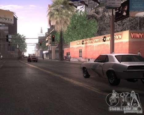 ENBSeries para Ultra Pack Vegetetions para GTA San Andreas terceira tela