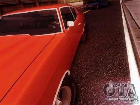 Chevy Chevelle SS 1970 para GTA San Andreas vista direita
