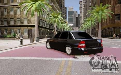 Lada Priora Dag Style para GTA 4 esquerda vista