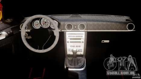 Ruf RK Spyder v0.8Beta para GTA 4 vista direita