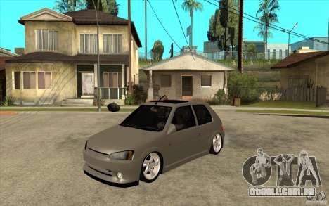 Peugeot 106 Reptile para GTA San Andreas
