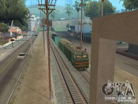 VL80K-548 para GTA San Andreas esquerda vista