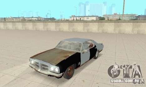 Pontiac LeMans 1970 Scrap Yard Edition para GTA San Andreas