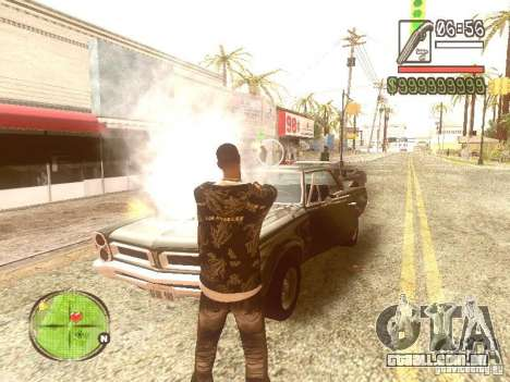Wild Wild West para GTA San Andreas quinto tela