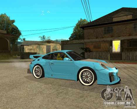 Porsche 911 Turbo Grip Tuning para GTA San Andreas vista direita