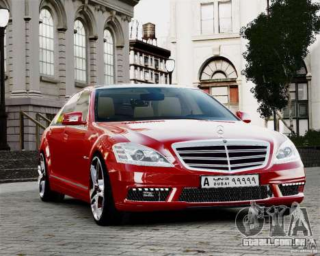 Mercedes-Benz S65 AMG 2010 Final para GTA 4 vista lateral
