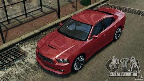 Dodge Charger SRT8 2012 v2.0 para GTA 4 rodas