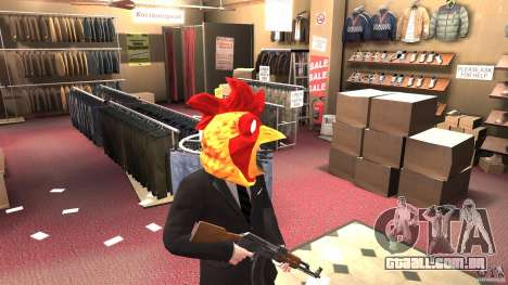 CluckingBell Hat para GTA 4 segundo screenshot